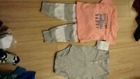 New Carters Infant boys 3pc outfit 0-3 months