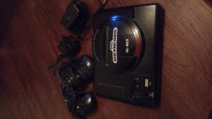 Sega genesis with all hookups and 2 controllers!