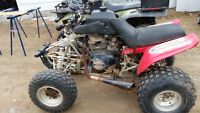 1998 yamaha warrior with honda 450 nighthawk engine