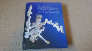Technical Mathematics with Calculus second canadian edition