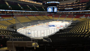 Scotia Club Reds 18 game package MAPLE LEAFS Section 122 Row 28