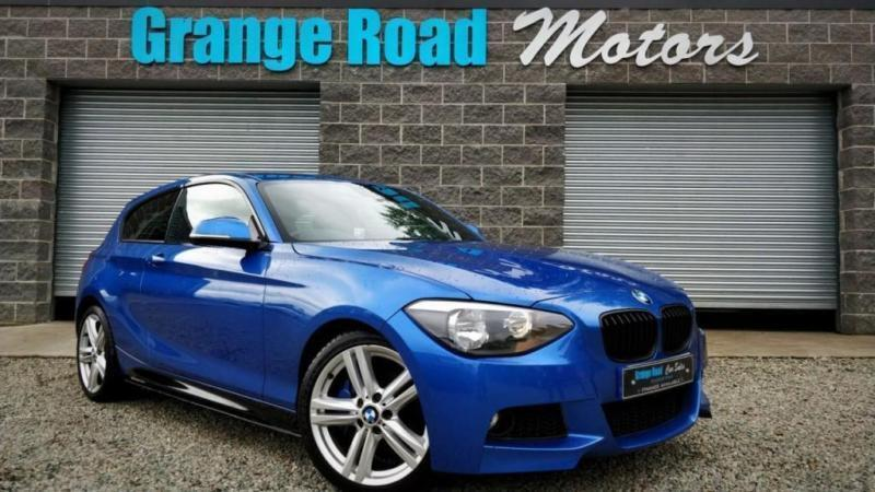 2013 13 BMW 1 SERIES 2.0 120D M SPORT 3D 181 BHP DIESEL