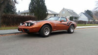 1978  25th Anniversery Edition Corvette - T Bar Roof