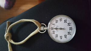 Brand new stainless steel stop watch.