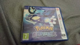 Pokemon alpha sapphire 3DS collection only