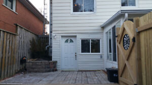 1 Bedroom LEGAL WALK OUT BASEMENT Apartment closeby the Lake