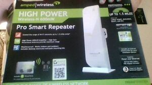 AMPED WIRELESS PRO REPEATER/INTERNET BOOSTER