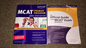 2 MCAT Exam textbooks (older versions)