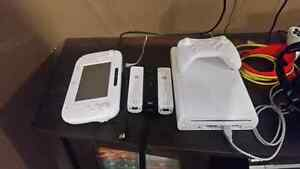 White 32 GB Wii-u (modded with 4000 games)