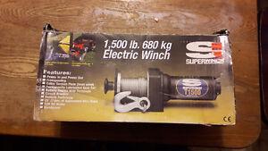 Electric Winch 1,500 lb.  680 kg