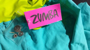 Zumba Fitness Women's Cargo Pant With Reflector Strips