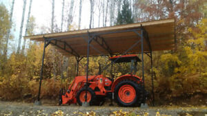 MS Steel Shelters and Carports