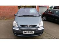 CITROEN XSARA PICASSO 1.6 DESIRE 1 OWNER FSH 10 STAMPS IN BOOK 07 REG
