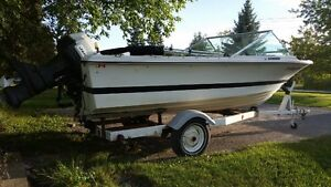 Boat Motor and Trailer for Sale Peterborough Peterborough Area image 2