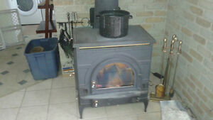 large wood stove trade for a good pellet stove
