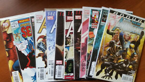 NEW AVENGERS 6,7,36-60 ANNUAL 2,3 BENDIS SPIDER-MAN WOLVERINE