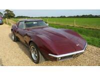 1969 Chevrolet Corvette 5.7 V8 2 DOOR AUTOMATIC Coupe Petrol Automatic