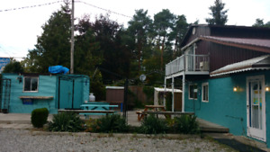 The famous Ipperwash chip weagon for Lease close to Beach