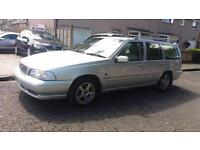 1999 T VOLVO V70 2.5TDi 2640CC AUTOMATIC XT. WITH PRIVATE PLATE.MOT JULY 2017.