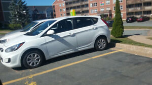 Hyundai accent hatchback 2013 for sale