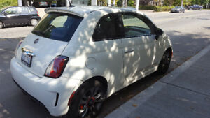 2015 Fiat 500 Turbo Coupe (2 door)