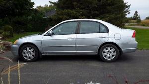 2002 Honda Civic LX-G Berline