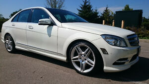 2011 Mercedes-Benz C-Class C350 AMG 4Matic Sedan