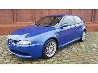 ALFA ROMEO 147 GTA 3.2 V6 AUTO 153 MPH *VERY LOW MILES * RARE BLU METTALICO