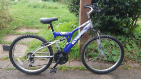 """Olympus Atom 24"""" wheels full suspension bike bicycle"""