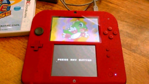 NINTENDO 2DS SYSTEM WITH GAME 3DS GREAT SHAPE