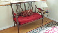 Settee (Antique)