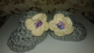 Girl Flower power Booties