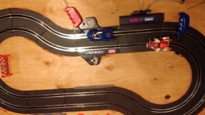 Battery powered race track