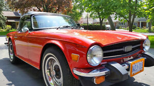 FOR SALE TR6 July 1976 #355 FROM THA LAST EVER BUILT  CLEAN!!