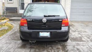 2006 MK4 Volkswagen Golf TDI   Diesel 5 Speed Manual
