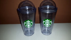 Starbucks Frappachino refillable cups
