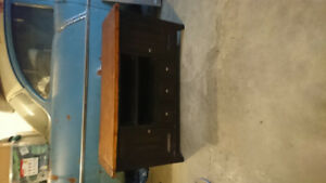 Ashley Furniture Solid Wood TV Stand