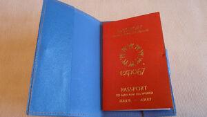 passeport  expo  67