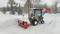 SNOW REMOVAL SAUBLE BEACH !!     Call 519 377 0831