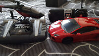 Air Hogs Helicoper and RC Lambo Car