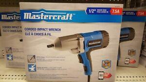"Mastercraft 1/2"" impact gun-Mint"