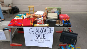 GARAGE SALE (TODAY ONLY)!!! 130 ROBBINSTONE DRIVE, SCARBOROUGH