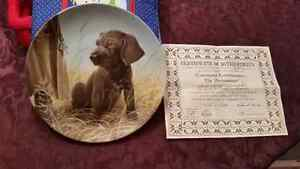 KNOWLES COLLECTABLE  DOG PLATES $8 EACH London Ontario image 4