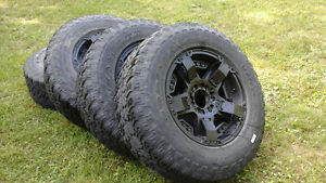 18in 6 bolt rims  and tires off of gmc truck