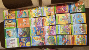 Leap Reader and a Huge Collection of Tag Books for Kids Children