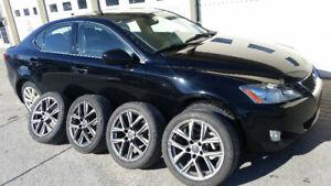 2008 LEXUS IS250 AWD, FULL, GPS, BACKUP CAM, ENTRETIEN LEXUS!