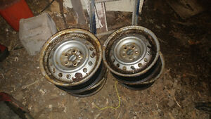 "15"" toyota corolla winter rims 5x100 bolt pattern"