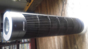 Air purifier with remote