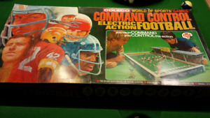 Coleco CFL electronic action football game 1971