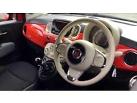 2015 Fiat 500 1.2 Pop 3dr Manual Petrol Hatchback